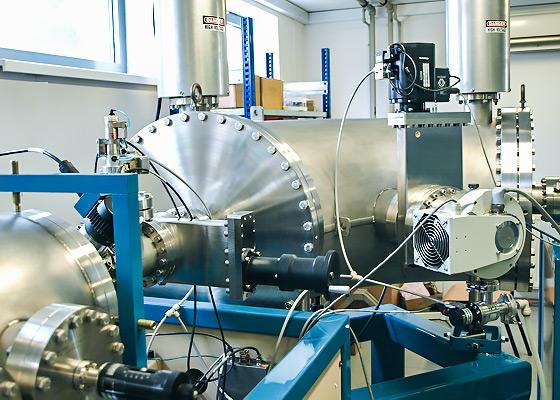 AMS Machine - Electrostatic Analyzer