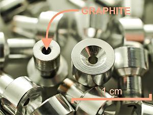 Cathodes after AMS measurements