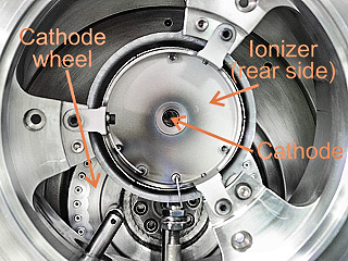AMS Machine - Ion Source