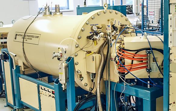 NEC 1.5 SDH Pelletron accelerator