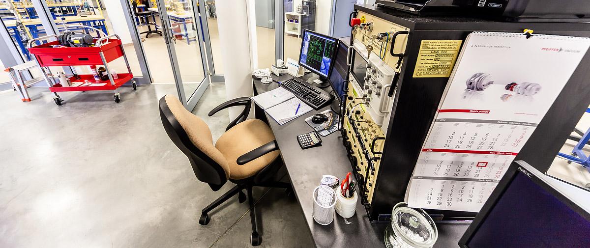Konsola sterowania spektrometrem